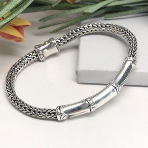 John Hardy Bamboo Station Classic Chain Bracelet